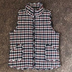 🐈 Women's Plaid Quilted Vest